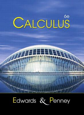 Calculus By Edwards, C. H./ Penney, David E.
